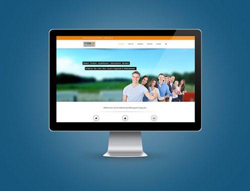 Unsere neue Website geht online.